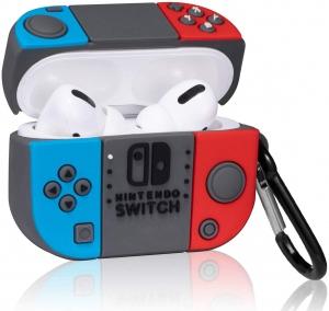 Airpods Pro Nintendo Switch Design Soft Silicon Case Cover