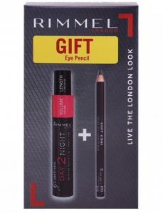 Rimmel Glam'Eyes Day 2 Night Mascara + Soft Kohl Kajal Eye Pencil Offer Pack