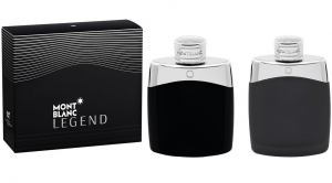 Montblanc Legend Cologne Gift Set for Men, 2 Pieces (3.3 Oz EDT Spray + 3.3 Oz After Shave Splash)