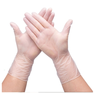 Powder Free Extra X-Large Clear Glove - 100 Pcs.