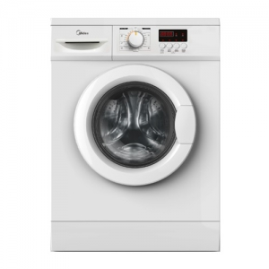 Midea 7 Kg, Front Load Washer - White