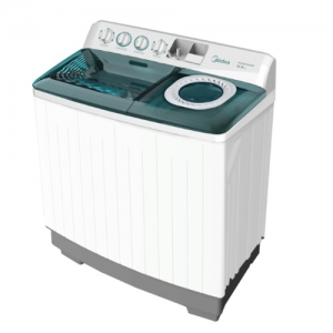 Midea 8 Kg, Twin Tub, Top Load Washing Machine