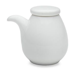 Sands Porcelain Oil/Sauce Pot - White