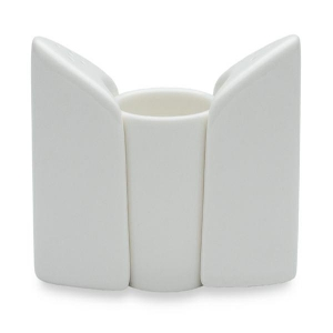 Sands Porcelain Salt & Pepper Shakers & Toothpick Holder - White