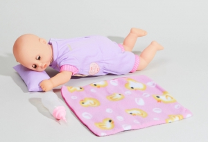 "14"" Sleeping Baby Doll With Accessories"