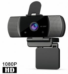 Full HD 1080p Webcam with Tripod