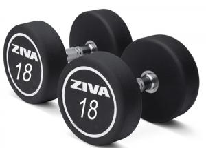 Ziva XP Urethane Dumbbells - 18 Kg