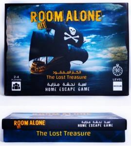 Lost Treasure Room Alone Home Game