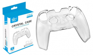 PS5 Controller Protection Case Crystal Joystick Hard PC Clear Shell Game Player Accessories