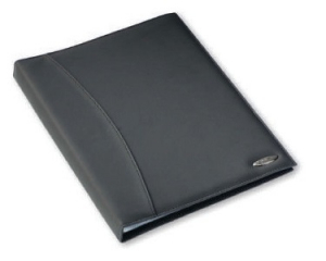 Rexel Black Soft-touch Display Book 36 Transparent Pockets