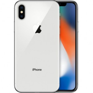 Apple iPhone X - Silver- 256 GB
