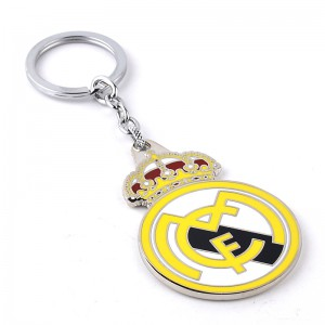 Real Madrid CF Logo Key Chain