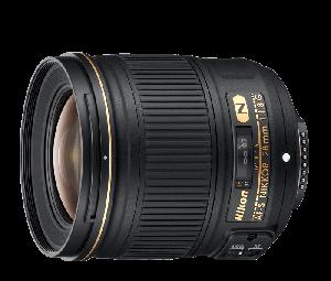 Nikon AF-S NIKKOR Camera Lens 28mm f/1.8G