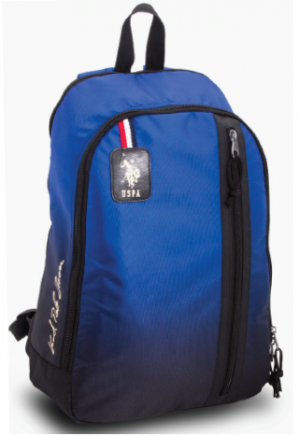 "US POLO Back Pack Blue 17"" - PLÇAN6391"