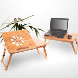 Beaucoup Bamboo – Multi-Function Laptop Table