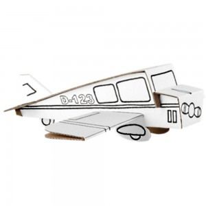 Calafant  Airplane Cardboard Construction Set