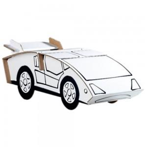 Calafant Sports Car Cardboard Construction Set
