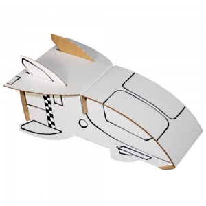 Calafant Spaceship Cardboard Construction Set