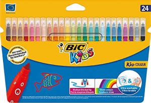 BIC Kids Couleur Felt Tip Pens - Pack of 24