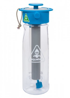 LUNATEC's Aquabot is a high pressure multi-functional drinking water bottle 650mL