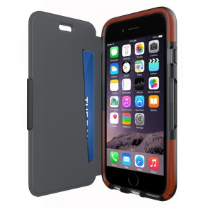 2dfbae2445cfc Classic Shell Wallet case for iPhone 6 (Black)