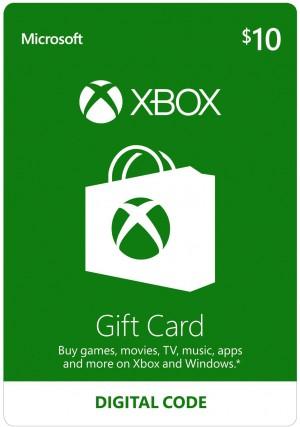 Xbox $10 virtual