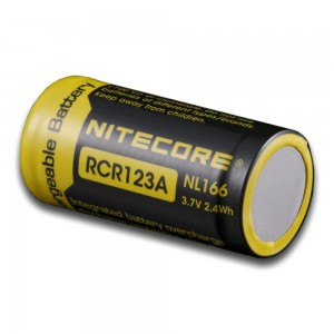 Nitecore RCR123A Rechargeable Battery - NL166