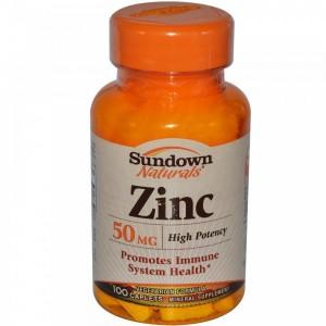 Sundown ZINC 50 MG 100 CAPS