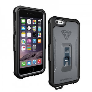 Armor-X IPX8 Ultimate waterproof case for iPhone 6 Plus (Black)