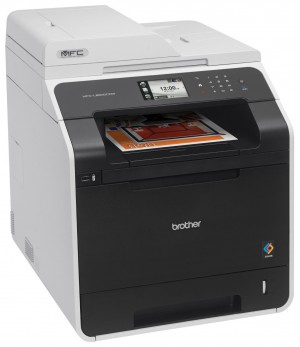 Brother Printer Wireless Color Printer with Scanner, Copier and Fax MFC-L8600CDW