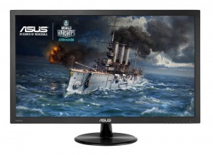 """ASUS VP228HE Gaming Monitor - 21.5"""" FHD 1920x1080, 1ms, Low Blue Light, Flicker Free"""