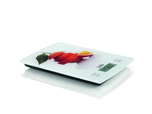 Laica Kitchen Scale Touch Sensor White/Orange - KS1029O