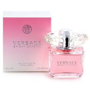 Versace- Bright Crystal Eau De Toilette For Women's, 90 ml - 5842