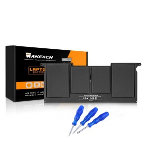 Wakeach Laptop Battery for Apple Macbook Air 11-inch A1406 A1495 A1370 (2011 Version) A1465(Mid-2012 Mid-2013 Early-2014) + Three Free Screwdrivers