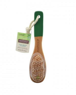 Ecotool Bamboo Foot Brush & File
