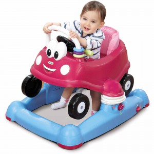 Little Tikes Princess Cozy Coupe 3-in-1 Mobile Entertainer (Pink) - 635946