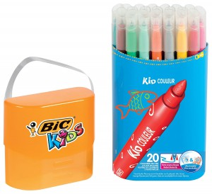 BiC Kids Kid Couleur Colouring Pens (Case of 20)