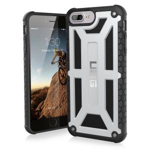 UAG Monarch Case  for iPhone 7 Plus and 6S Plus-Platinum/Black