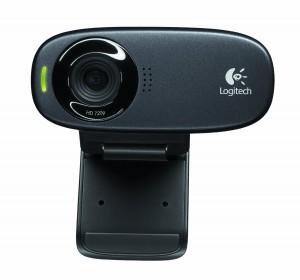 Logitech Webcam C310 HD 5 Megapixel Camera (Black)