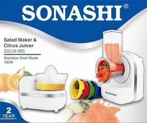 SONASHI SALAD MAKER & CITRUS JUICER SSLM- 885