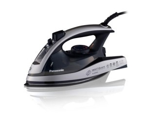 Panasonic Electric 2400W Steam Iron Alumite Coating BLACK NI-JW950ALTH