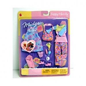 Mattel Happy Family Midge & Baby Springtime Fashions (2003)