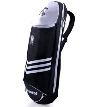 Giant Crossbow New Genuine Badminton Bag Shoulder Bag Small Light Simple Badminton Racket Bag Tennis Racket Bag, Black