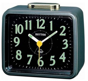 Rhythm Basic Bell Alarm Clock