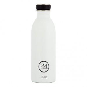24 Bottles -Urban Bottle 0.5 l-Ice White