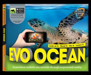 Arevo Augmented Reality 3D EVO Book:EVO Ocean Book