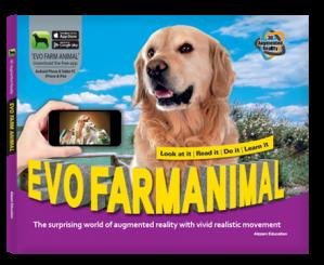 Arevo Augmented Reality 3D EVO Book: EVO Farm Animal Book