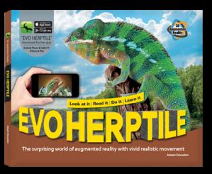 Arevo Augmented Reality 3D EVO Book: EVO Herptile Book