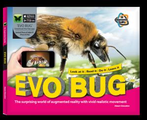 Arevo Augmented Reality 3D EVO Book: EVO Bug Book