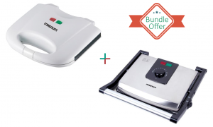 MAGNUM DELUXE GRILL AND SLICE SANDWICH MAKER - SPECIAL OFFER